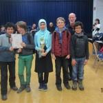 3. Platz und Pokal im Regierungsbezirksfinale