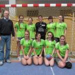 2. Platz für die Herder-Handballerinnen
