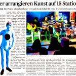 """""""Zwischenräume"""" im Stadtanzeiger"""
