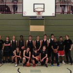 Zweiter Platz bei den Stadtmeisterschaften Basketball