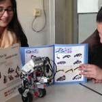 All zesamme: LEGO®-Roboter für Mädel