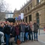EU-Planspiel und Frankfurt-Exkursion der SoWi-LKs