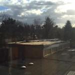 Friederike zieht der Turnhalle das Dach ab…